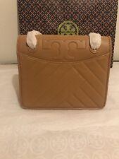 NWT Tory Burch Alexa Convertible Shoulder Bag (Aged Vachetta) Leather