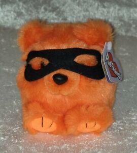"Puffkins 5"" ""TRICK"" Limited Edition Bear Plush Stuffed Animal Halloween 1994"