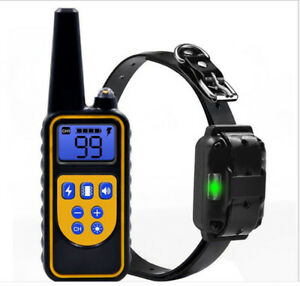 Pet Training Dog Training Collar Ultrasonic Bark Stopper Outdoor 800m Distance
