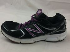 New Balance 490v2 Running Shoes Light Weight Womens 8 Med Black Purple Sneakers