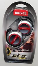 Maxell Stereo Earclip EC-150 Behind The Ear Headphones 190561 for MP3, CD, iPod