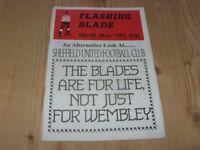 Flashing Blade  (Sheffield Utd fanzine) No 30  1993