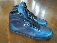 43ecfe8b5b3 Authentic Men s Dark Blue Hightop Gucci Sneaker Sz. ...