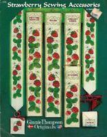 Strawberry Sewing Accessories in Cross Stitch Ginnie Thompson Originals LMS2