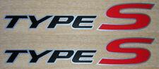 Honda Civic Type-S Side Panel Sticker Set - Honda Type S Stickers Decals Graphic