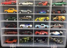 HotWheels Loose 24 Car Lot Real Riders Daytona Impala Jeep Corvette Torino Indy