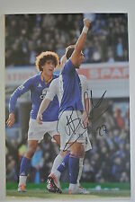 A 12 x 8 inch photo personally signed by Apostolos Vellios of Everton.