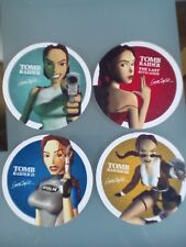 Lara Croft Tomb Raider carte 4 sous-verres PS1 ERA-Officiel Playstation objet