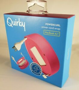 Quirky Powercurl V2 POP 45W Wire Organizer, Pink (PPRCP-45PK) New Unopened