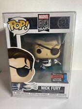 Funko Pop! Nick Fury Heroes 528 Marvel Comics 80 Years 2019 Fall Convention
