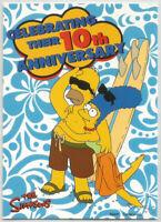 Simpson's 10th Anniversary (Inkworks 2000) ~ PROMO CARD NSU-1