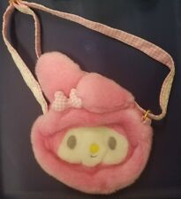 Vintage MY MELODY SANRIO Plush cross body Bag. So Cute