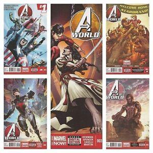 °AVENGERS WORLD 1 - 5° US Marvel 2014 von Jonathan Hickman
