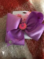 Jojo Siwa Scented Donut Purple Large Signature Hair Bow-New!