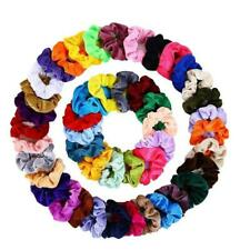 20/36/40/45pcLady Velvet Hair Scrunchies Elastic Scrunchy Bobble Ponytail Holder