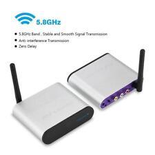 300M 5.8 GHz Wireless HDMI AV Sender Trasmettitore e Ricevitore 220V EU Plug