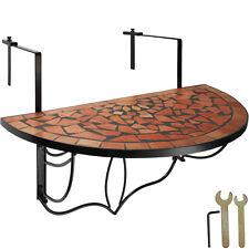 Balkontisch Mosaik klappbar Hängetisch Tisch Klapptisch Balkonhängetisch Terra