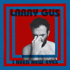 Larry Gus I NEED NEW EYES +MP3s LIMITED EDITION Dfa Records NEW SEALED VINYL LP
