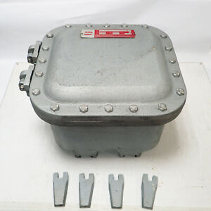 UNUSED CROUSE-HINDS EJB121208-GB EXPLOSION-PROOF JUNCTION BOX, CLASS EFG