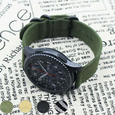 20mm 22mm Nylon Watch Band Canvas Fabric Bracelet Strap For Samsung Watch