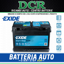 Batteria auto EXIDE EK508 START-STOP AGM CHRYSLER DODGE FIAT INFINITI JEEP LANCI