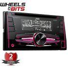 JVC KW-R520 CD MP3 2 DIN STEREO AUTO USB REGOLAZIONE ANTERIORE Ingresso Aux-In
