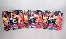 Streets Of Rage Sega Mega Drive Posavasos-Juego de 3-Madera-Retro Gaming