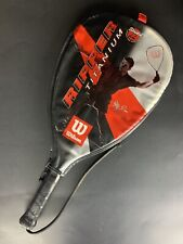 """Wilson Ripper Titanium Racquetball Racket With Cover - Stretch 22"""""""