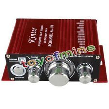12V 2 CH Mini Digital Power Audio Amplificateur AMP Pour HiFi MP3 Voiture New