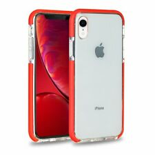 Clear Soft Bumper Case For Apple iPhone XR 10R Protective Shockproof Phone Cover