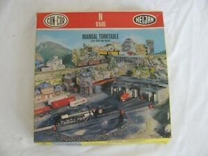 Con Cor Heljan N Scale Manual Operated Train Turntable #B646 NOS