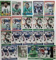 1986 Topps 275 Reggie White Philadelphia Eagles 1987 Topps Lot Of 18 HOF PACKERS