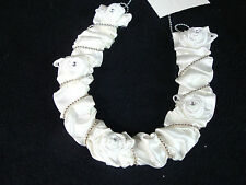 Wedding Bridal Horse Shoe With Best Wish Card Ivory  New  p3