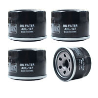4X Oil Filter for Kymco XCITING 500 UXV 500I Yamaha YFM700F GRIZZLY AUTO 4X4 EPS