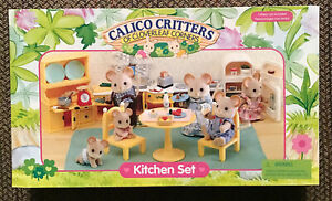 Calico Critters of Cloverleaf Corners Kitchen Set, BNIB by EPOCH