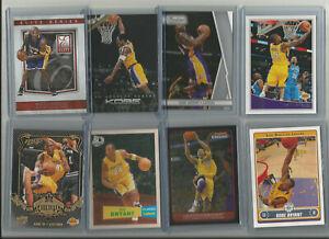 NBA Los Angeles Lakers Legend Kobe Bryant 8-Card Lot