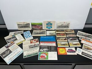 Vintage Original 1960s PLYMOUTH CHRYSLER Automobile Dealer Brochures Manual Card