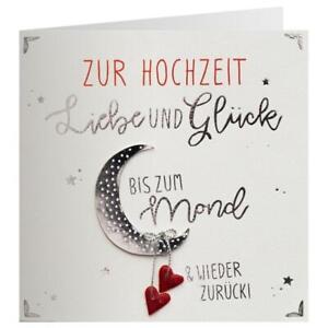 Hochzeit Karte Liebe Paar Quadrat Grußkarte Knopf Glückwunsch Karte Jubiläum