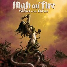 HIGH ON FIRE Snakes For The Divine BANNER HUGE 4X4 Ft Fabric Poster Flag art