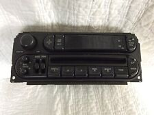 2002-07 DODGE CHRYSLER JEEP RADIO CD PLAYER P05091556AH Used Working Condition