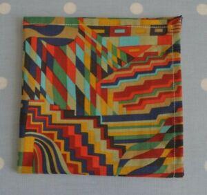 John Lewis Tana lawn handkerchief hankie pocket square Gustav Klimt Bright Multi