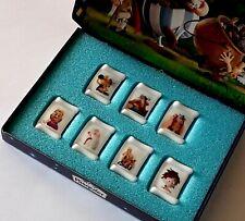 coffret de 7 fèves Asterix Potion magique porcelaine brillante PASQUIER