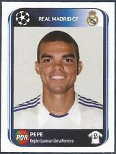 PANINI UEFA CHAMPIONS LEAGUE 2010-11- #435-REAL MADRID & PORTUGAL-PEPE