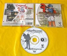 TIME STALKERS Sega Dreamcast Dc  Stalker Versione Americana NTSC ○ COMPLETO - AX