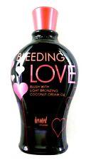 """DEVOTED CREATIONS """"BLEEDING LOVE"""" BLUSH LIGHT-BRONZE TANNING OIL 12.25Z - NEW"""