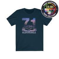 1971 Oldsmobile Cutlass Supreme & 442   Olds Short Sleeve Tee