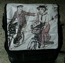 Bolsa tipo Maletín para la bicicleta urbana marca Union de Holanda con cinta