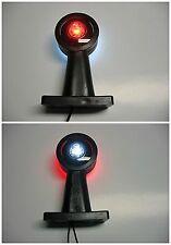 2 x Begrenzungsleuchten in LED-Technik 12/24V 15 cm gerade Links und Rechts Set