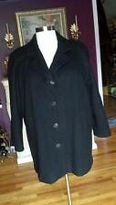 (Lane Bryant  Designs & Co.)  Black  Single Breasted Coat  Size 18-20