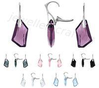 Beautiful Crystal Earrings, Swarovski De-Art - Sterling silver great for gift